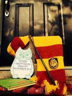 Harry Potter baby announcement