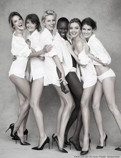 Serious supermodel alert: Get a sneak peek of the 2014 Pirelli calendar, shot by Patrick Demarchelier
