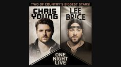 """Two of country music's most dynamic voices — Chris Young and Lee Brice — join forces to kick off 2015, bringing their unique brands of soulful, high-energy country together for a co-headlining tour beginning in Syracuse, NY at the War Memorial (at Oncenter) on Thursday, Jan. 22. Brice — the """"evocative, rough-edged singer"""" (New York Times) who notched a No. 1 debut for his album I Don't Dance and was the first country artist to secure an RIAA platinum single certification with the album's…"""
