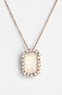 KALAN by Suzanne Kalan Barrel Stone Pendant Necklace available at #Nordstrom