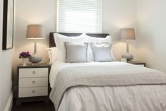 Small bedroom layout - courtesy of Scott McGillivray and HGTV's Income Property
