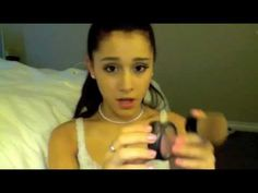 Makeup tutorial by Ariana Grande - How she does her's & a little on Victorious!