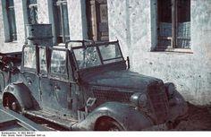 1941, Balkans, Ce véhicule d'une Propagand Kompanie a été attaqué par des partisans   by ww2gallery