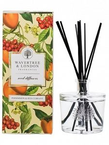 Wavertree & London Reed Diffusers 250ml - Persimmon & Red Currant