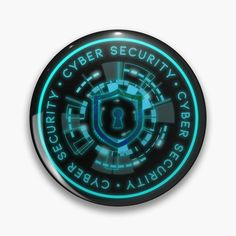 cybersecurity blue team red team defcon computer hack hacking hacks hat black linux infosec threat windows intelligence Cyber Security in all caps in a circular pattern. Circular radar pattern surrounding the center. Shield and lock key hole with network connected nodes overlay. Large glowing cirlce on the outter most ring pattern. All elements glow with emphasized glowing elements like switch indicators. Breath, eat, sleep Cyber Security. Security Badge, Seal Logo, Red Team, Circular Pattern, Eat Sleep, Linux, Order Prints, Cyber, Overlays