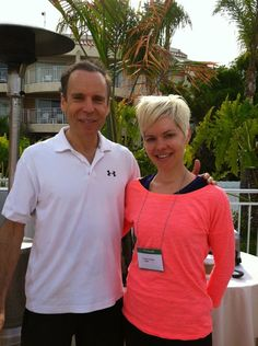 My photo opp with Dr. Fuhrman at his annual Health Getaway. #nutritarian #carrieonvegan