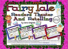 Fairy Tale Readers Theater and Retellings (Bundled)  from Kindergarten Boom Boom on TeachersNotebook.com (60 pages)