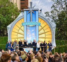 JOINED BY PROMINENT SCIENTOLOGISTS OF SAN DIEGO, Mr. Miscavige officially dedicated San Diego's Ideal Church of Scientology. http://qoo.ly/caat5