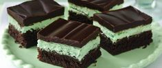 Indulge in a classic bar with three delicious  layers - fudgy brownies, minty filling and chocolate glaze.
