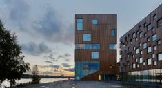 Das neben der Architekturschule angeordnete Kunstmuseum gilt als Landmarke des Campus