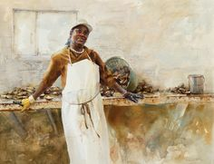Watercolor exhibition captures working life