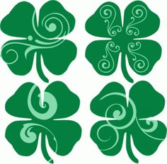 I think I'm in love with this shape from the Silhouette Design Store! St Patricks Day Decor Door, Design Projects, Craft Projects, Art Studies, Silhouette Design, Print And Cut, Flourish, Cool Art, Stencils
