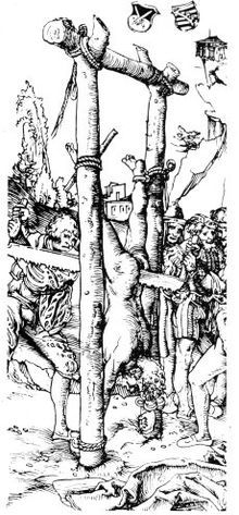 Top 10 Gruesome Methods of Execution - Listverse Lucas Cranach, Roman Emperor, Ancient Rome, 16th Century, Death, History, Drawings, Artist, Pictures