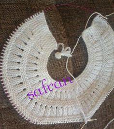 Knitting top down Baby Knitting Patterns, Knitting For Kids, Crochet For Kids, Knitting Designs, Knitting Stitches, Free Knitting, Knit Crochet, Crochet Patterns, Crochet Hats