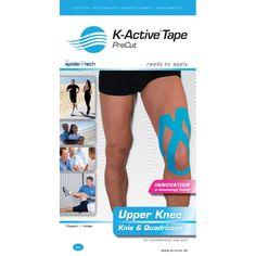 K-Active Kinesiology Knee Tape - Ideal for arthritis, ligament strains & meniscal degeneration.