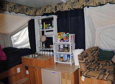Decorating A Pop-Up Camper | StyleBurb: Time Flies When You're Having Fun