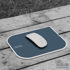 Take your mouse outside with the hard 'shardies' mouse pad.