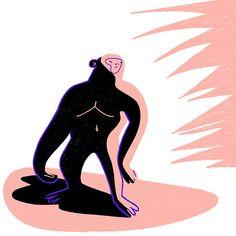 illustration by Jagoda Jankowska instagram: @blueberry.kingdom Monkey Illustration, Blueberry, Disney Characters, Fictional Characters, Darth Vader, Illustrations, Disney Princess, Instagram, Berry