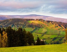 Landscape of Czechia : Highlands