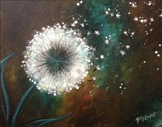 Make a wish  #PWAT  #PaintingWithATwist Painting with a Twist