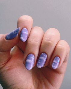hand painted purple clouds nails nailart purple clouds beauty stars nailsacrylic is part of nails Simple Neutral Winged Liner - nails Simple Neutral Winged Line Summer Acrylic Nails, Best Acrylic Nails, Summer Nails, Spring Nails, Ten Nails, Kawaii Nails, Fire Nails, Minimalist Nails, Nagel Gel