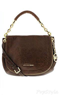 Michael Kors Stanthorpe Leather Shoulder Bag