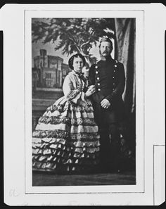 Prince and Princess Frederick William of Prussia, 1860 [in Portraits of Royal Children Vol.5 1860-1861] | Royal Collection Trust