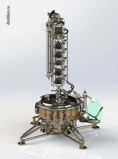 Колонный самогонный аппарат премиум класса OMD-30-pro от Distillers.ru