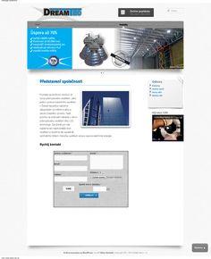 Webdesign for Dream-tec s. r. o.   Do you like it?