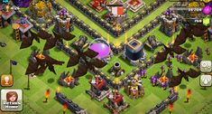 """The Iranian government has banned 'Clash of Clans' over fears the mobile game promotes violence and """"tribal conflict. Dragon Clash Of Clans, Clash Of Clans Attacks, Barbarian King, The Golem, The Clash, Town Hall, Best Web, Online Games, Cat Supplies"""