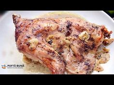 Roasted rabbit (in the oven) (simple and classic recipe) (English subtitles) Roast Rabbit, Romanian Food, Food Videos, Chicken, Cooking, Simple, Classic Recipe, Recipes, Youtube