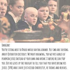 Imagine it was Hermione Draco Malfoy Imagines, Harry Potter Imagines, Harry Potter Feels, Draco And Hermione, Harry Potter Draco Malfoy, Slytherin Harry Potter, Harry Potter Cast, Harry Potter Quotes, Harry Potter Movies