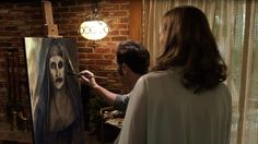 "If you're dreaming about a demon, don't paint its portrait. | 21 Lessons ""The Conjuring 2"" Taught Us About Staying Alive During A Possession"