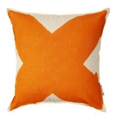 Pony.Rider.X.Cushion.Orange.Red