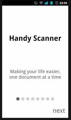 Android App: Scanner per Telefono crea documenti PDF ( clicca l'immagine x leggere il post )