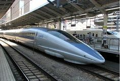 Shinkansen - Japan. 300 km / h (186 mph), top speed 581 km / h (361 mph