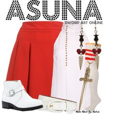 Inspired by Sword Art Online character Asuna.
