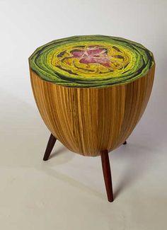 Artichoke Tables U0026 Retro Modern Wingbacks: Delectably Sustainable Furniture  By David Rasmussen