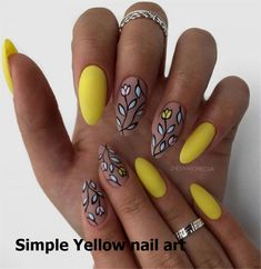 Choose stylish nail art - Page 42 of 69 - Inspiration DiaryYou can find Stylish nails and more on our website.Choose stylish nail art - Page 42 of 69 - Inspiration Diary Diy Yellow Nails, Yellow Nails Design, Stylish Nails, Art Pages, Nail Arts, Nail Art Designs, Manicure, Tattoos, Inspiration