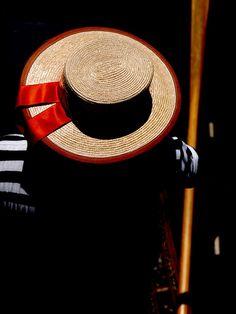 Gondolier hat, #Venice, #Italy #Veneto