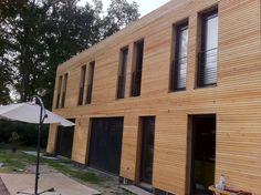 Bardage garde corps maison pinterest google et for Bardage bois faux claire voie