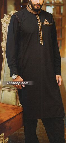 Black Shalwar Kameez Suit | Buy Pakistani Indian Dresses