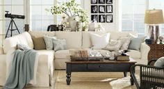 I like this sofa and coffee table