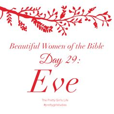 """We learn from Eve that women share God's image. God's purpose for creation could not be fulfilled without the equal participation of """"womankind."""" Just like we learned from Adam's life, Eve also teaches us that God wants us to freely choose to follow and obey him out of love. Nothing we do is hidden from God. Likewise, it does not benefit us to blame others for our own failings. We must accept personal responsibility for what we do."""