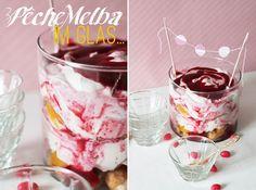 """Verlockendes...: Peches Melba """"Torte"""" im Glas + Gewinnerinnen"""