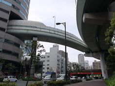 Osaka Highway That Lives in a Skyscraper
