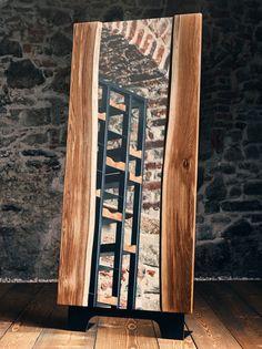"""Breite: 80 cm Höhe: 185 cm Der the loft – Spiegel no_08 ist mit seinem Rahmen aus Massiveichenbrettern und einem Gestell aus Schwarzstahl ein modernes Stilelement für Ihren Raum und rundet perfekt die gesamte """"the loft"""" Serie ab. The Loft, Design Inspiration, Inspired, Storage, Furniture, Home Decor, Urban Design, Mirrors, Rustic"""
