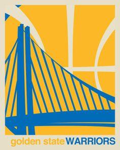 Golden State Warriors Logo Original Art