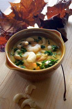 Thermomix przepisy. Dyniowe curry z krewetkami #thermomix #curry #shrimp