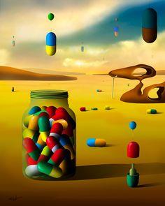 Cápsulas Coloridas. by Marcel Caram